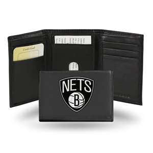 Brooklyn Nets Rico Embroidered Tri-Fold Wallet