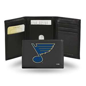 St. Louis Blues Rico Embroidered Tri-Fold Wallet