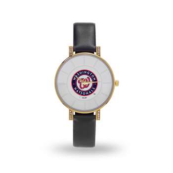 Washington Nationals Sparo Lunar Ladies Women's Watch