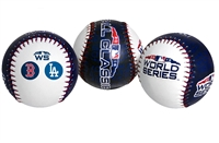 2018 World Series Boston Red Sox vs Los Angeles Dodgers Rawlings Replica Dueling Teams Baseball