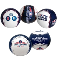 2018 World Series Boston Red Sox Rawlings Replica Two (2) Baseball Set