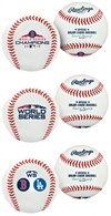 Boston Red Sox 2018 World Series Champions Rawlings Replica 3 (three) Baseball Collectors Set