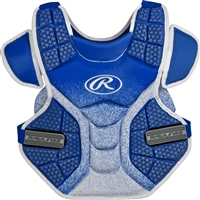 Rawlings Softball Protective Velo Chest Protector 13 inch Royal/White