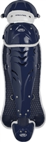 Rawlings Softball Protective Velo Leg Guards 17 inch Navy/White
