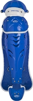 Rawlings Softball Protective Velo Leg Guards 13 inch Royal/White