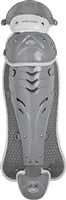 Rawlings Softball Protective Velo Leg Guards 13 inch Silver/White