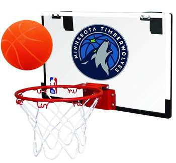 Minnesota Timberwolves Basketball Hoop Set - Indoor