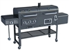 Smoke Hollow SH7000 Gas/Charcoal/Smoker Grill with Infrared Sear Burner