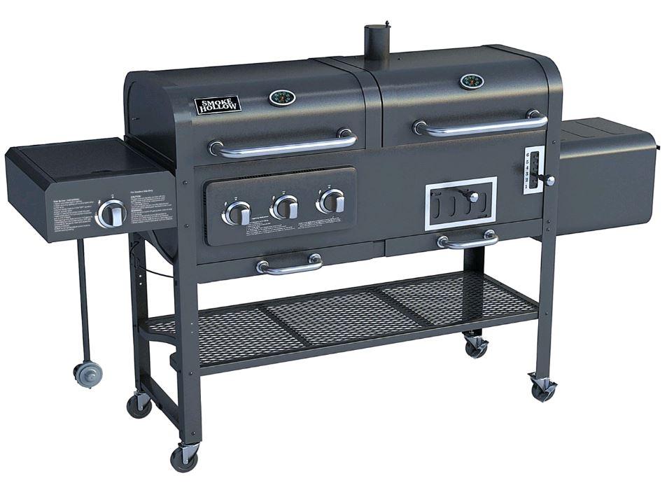 3 Burner Propane Gas Grill With Side Burner