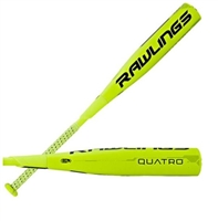 Rawlings Quatro Composite Senior League Baseball Bat