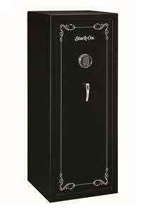 Stack-On SS-16-MB-E 16 Gun Security Safe with Electronic Lock, Matte Black