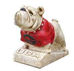 University of Georgia Bulldogs Painted Stone Mascot