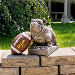 University of Georgia Bulldogs Vintage Finish Stone Mascot
