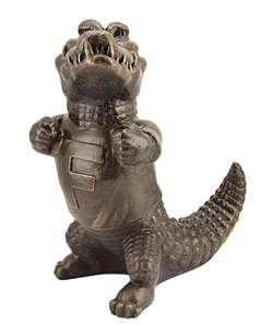 University of Florida Gators Stone Mascot -  Bronze Finish