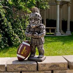 Michigan State University Spartans Sparty Vintage Finish Stone Mascot