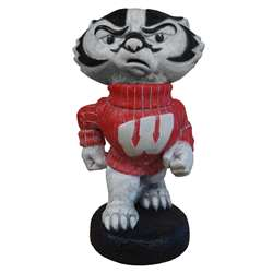 University of Wisconsin Badgers Bucky Badger Painted Stone Mascot
