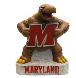 University of Maryland Terrapins Terp Painted Stone Mascot