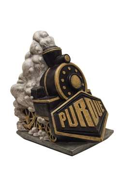 University of Purdue Boilermakers Painted Stone Mascot