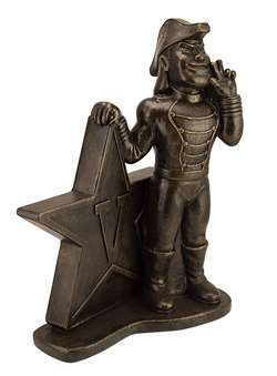 Vanderbilt University Commodores Bronze Finish Stone Mascot