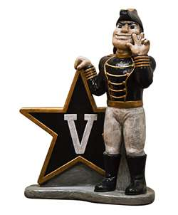 Vanderbilt University Commodores Painted Stone Mascot