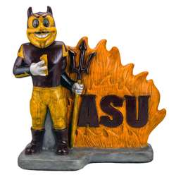 Arizona State University Sparky th Sun Devil Stone Mascot Painted