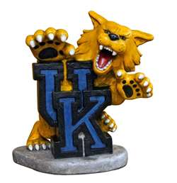 University of Kentucky Wildcats Painted Stone Mascot