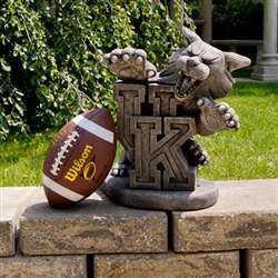 University of Kentucky Wildcats Vintage Finish Stone Mascot