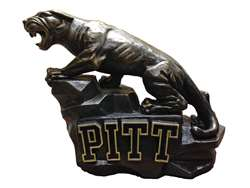 University of Pittsburgh Panthers Pitt Panther Painted Stone Mascot
