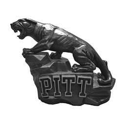 University of Pittsburgh Panthers Pitt Panther Vintage Finish Stone Mascot