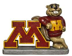 University of Minnesota Golden Gophers Painted Stone Mascot