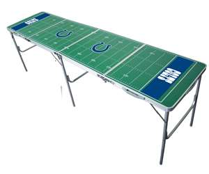 Jacksonville Jaguars NFL Folding Tailgate Table 2X8 Ft Picnic Card Table