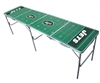 New York Jets NFL Folding Tailgate Table 2X8 Ft Picnic Card Table