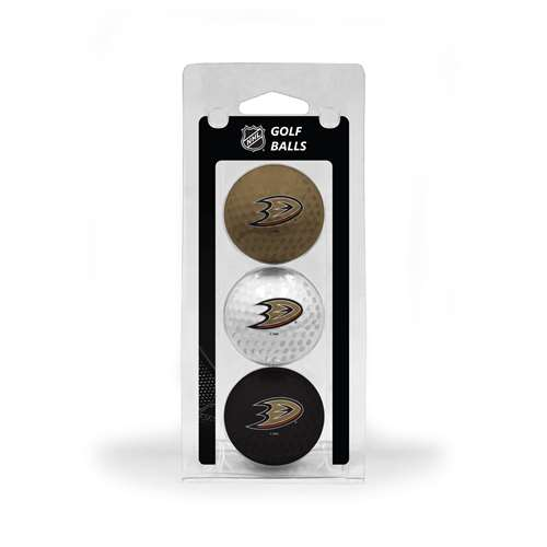 Anaheim Ducks Golf 3 Ball Pack 13005