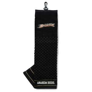 Anaheim Ducks Golf Embroidered Towel