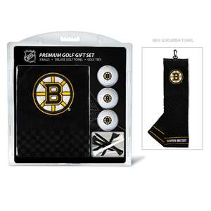 Boston Bruins Golf Embroidered Towel Gift Set