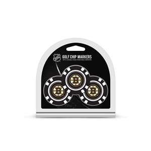 Boston Bruins Golf 3 Pack Golf Chip
