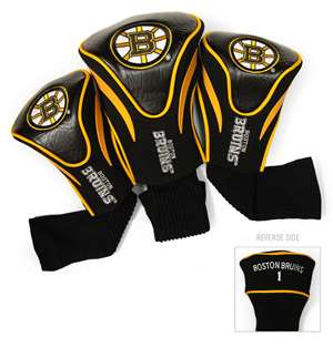 Boston Bruins Golf 3 Pack Contour Headcover