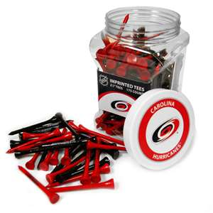 Carolina Hurricanes Golf 175 Tee Jar