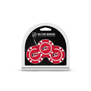Carolina Hurricanes Golf 3 Pack Golf Chip