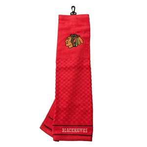 Chicago Blackhawks Golf Embroidered Towel