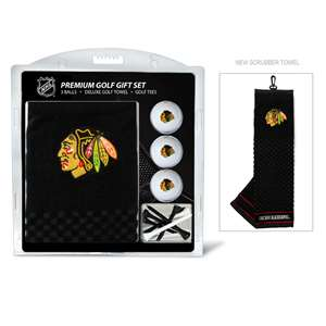 Chicago Blackhawks Golf Embroidered Towel Gift Set 13520