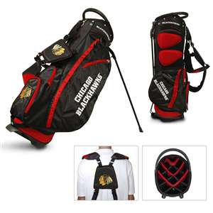 Chicago Blackhawks Golf Fairway Stand Bag 13528