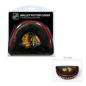 Chicago Blackhawks Golf Mallet Putter Cover