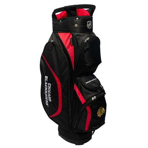 Chicago Blackhawks Golf Clubhouse Cart Bag 13562