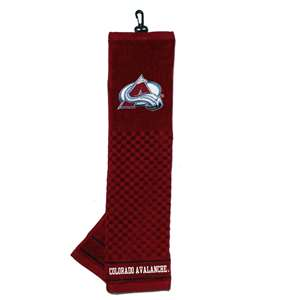 Colorado Avalanche Golf Embroidered Towel