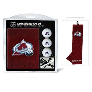 Colorado Avalanche Golf Embroidered Towel Gift Set 13620