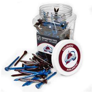 Colorado Avalanche Golf 175 Tee Jar 13651