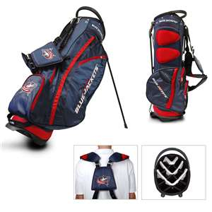 Columbus Blue Jackets Golf Fairway Stand Bag 13728