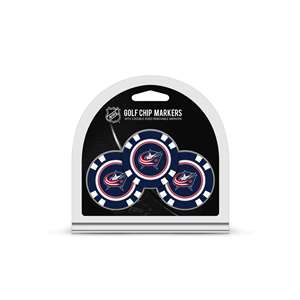 Columbus Blue Jackets Golf 3 Pack Golf Chip