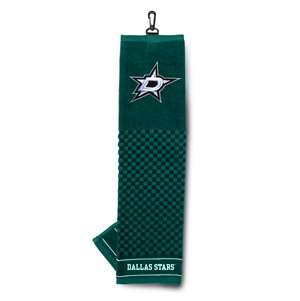 Dallas Stars Golf Embroidered Towel